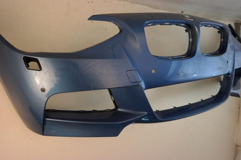 bmw 1er f20 m paket bj ab 2011 sto stange vorne front bumper sra pdc c4878. Black Bedroom Furniture Sets. Home Design Ideas